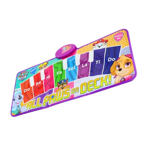 Paw Patrol Interactive Piano Dance Mat with 3 Play Modes