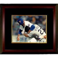 Nolan Ryan signed Texas Rangers 16x20 Photo Custom Framed  Fight vs Ventura Steiner Hologram