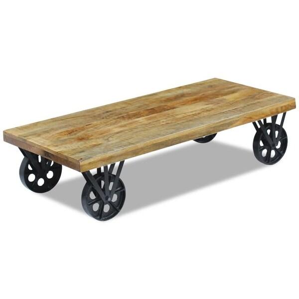 """vidaXL Coffee Table Mango Wood 47.2""""x23.6""""x11.8"""""""