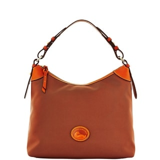 Dooney & Bourke Nylon Large Erica (Introduced by Dooney & Bourke at $149 in Jul 2014) - Brown