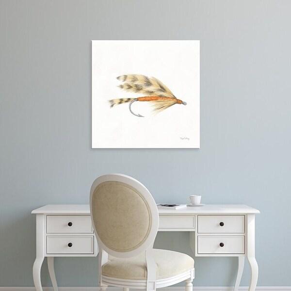 Easy Art Prints Elyse DeNeige's 'Gone Fishin VI' Premium Canvas Art
