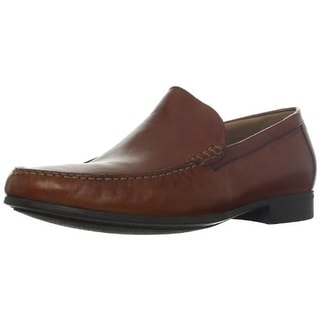 Johnston & Murphy Mens Cresswellven Leather Slip On Loafers