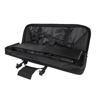 VISM® by NcSTAR® DOUBLE CARBINE CASE/BLACK 36 IN