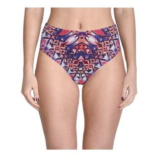 Becca by Rebecca Virtue Womens Plus Cathedral Printed Swim Bottom Separates