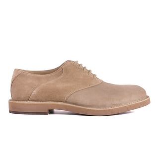 edf70ee88f1 Shop Brunello Cucinelli Mens Brown Suede Lace Up Oxfords - Free Shipping  Today - Overstock.com - 27343928