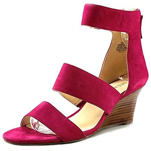 Nine West Women's Risktaker Wedge Sandals