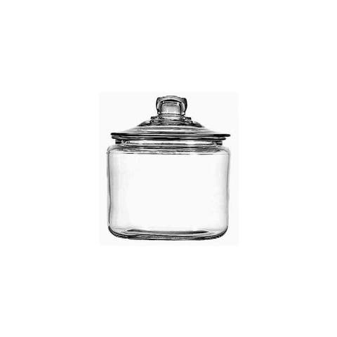 Anchor hocking 69832ahg17 heritage hill jar w/ lid 3qt
