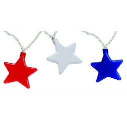 Camco 42656 Patriotic Star Party Light - red, white, & blue