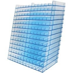 Holds 168 - Spectrum Noir Marker Storage Racks Clear 14/Pkg - Empty