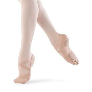 Shoe Bloch Dance Girls Synchrony Split Sole Stretch Canvas Ballet Slipper