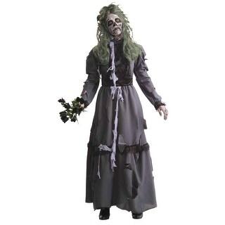 FM66358 Morris Costumes Zombie Lady ,One Size