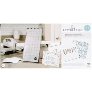 We R Memory Keepers Letterpress Starter Kit-