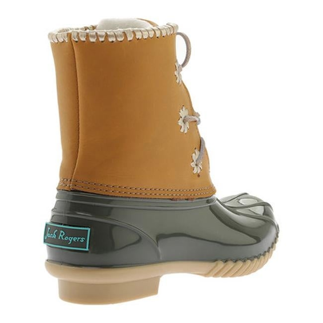 Chloe Duck Boot Olive Leather/Rubber