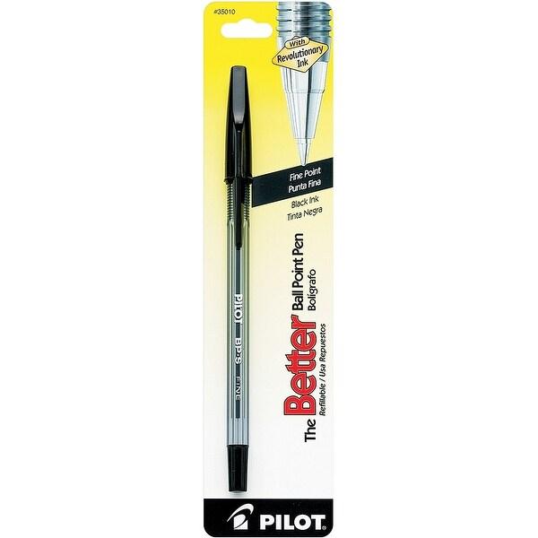 Pilot Better Fine Ballpoint Pen-Black