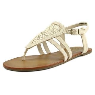 Fergalicious Sadie Women Open Toe Canvas Thong Sandal