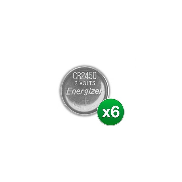 Replacement Battery for Energizer CR2450VP 2Pack (6-Pack) Replacement Battery