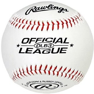 Rawlings OLB3 Official League Recreational Play Baseball (2-Pack)