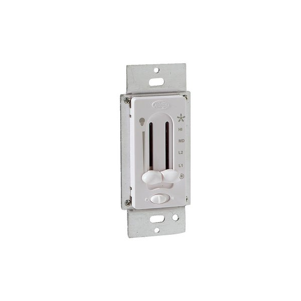 Hunter Wht Fan/Light Switch