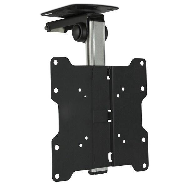 Mount It Tv Ceiling Kitchen Under Cabinet Bracket Folding Swivel For 17