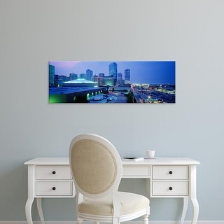 Easy Art Prints Panoramic Images's 'Ft Worth, Texas, USA' Premium Canvas Art