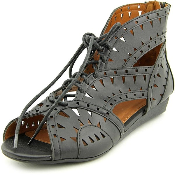 Mia Girl Rosemarie Women Open Toe Synthetic Gladiator Sandal