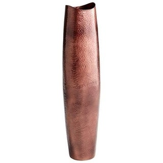Cyan Design Large Tuscany Vase Tuscany 38.75 Inch Tall Aluminum Vase Made in India - Antique Copper
