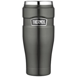 Thermos Stainless King 16-Ounce Travel Tumbler (Smoke)