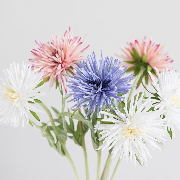 "FloralGoods Modern Chrysanthemum Flower Stem 18"" Tall"