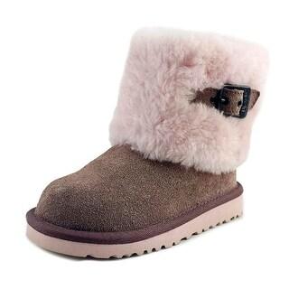 Ugg Australia Ellee Youth Round Toe Suede Ankle Boot