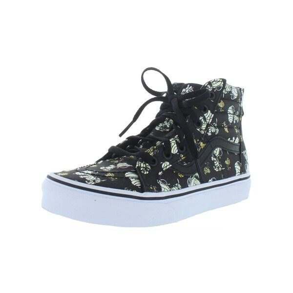 82d97e15906 Shop Vans Girls Sk8-Hi Zip Sneakers High Top Skate - Free Shipping ...