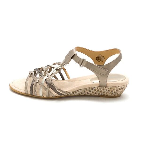 Easy Spirit Womens Mala Open Toe Casual Platform Sandals