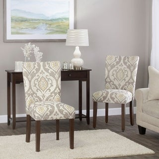 Link to HomePop Classic Parsons Dining Chair - Suri Brown (Set of 2) Similar Items in Dining Room & Bar Furniture