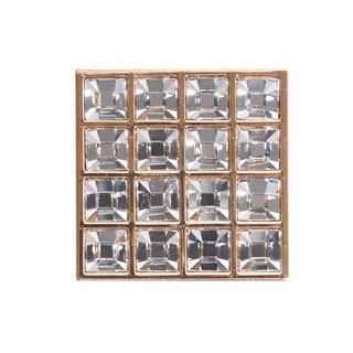 Bosetti Marella 101611 Crystal 1-3/4 Inch Square Cabinet Knob