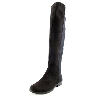 Rampage Izo Women Round Toe Synthetic Black Knee High Boot
