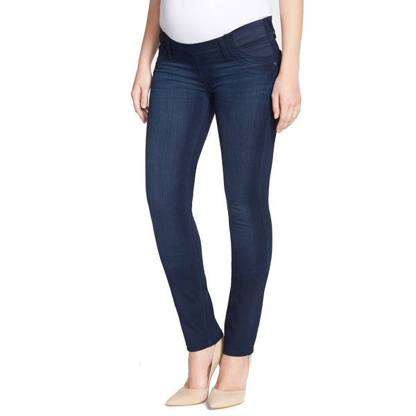 df3e3f1589e3b Shop DL1961 NEW Nicky Blue Womens Size 25 Skinny Stretch Maternity ...