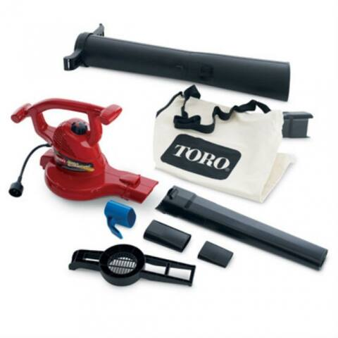 Toro 51619 Electric Ultra Blower Vacuum, 250 Mph Air Velocity