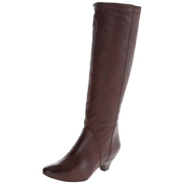 Frye NEW Brown Steffi Zip Shoes Size 5.5M Knee-High Leather Boots