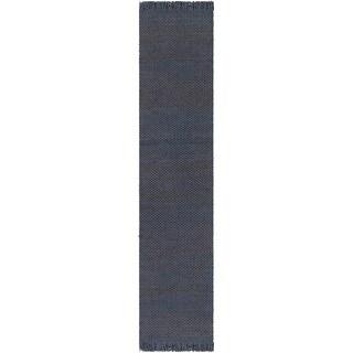 Hand-Woven Oregon Solid Jute Area Rug (2'3 x 10')
