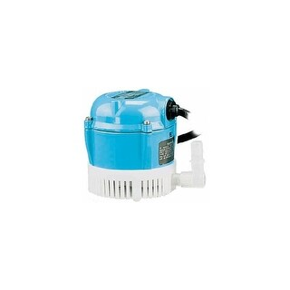 Little Giant 501016 230V 205 GPH Small Submersible Pump with 12ft. Power Cord - No Plug