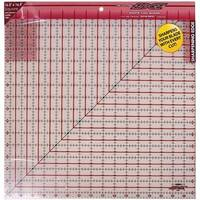The Cutting EDGE Frosted Ruler-16-1/2''X16-1/2''