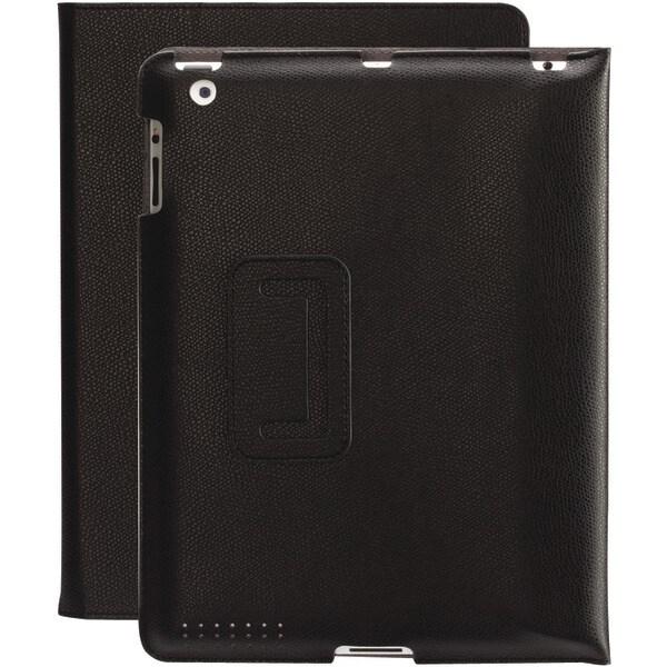 Griffin Gb35982 Ipad(R) With Retina(R) Display/Ipad(R) 3Rd Gen/Ipad(R) 2 Slim Folio (Black Pebble)