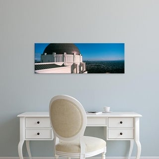 Easy Art Prints Panoramic Image 'Cityscape, Griffith Park Observatory, Los Angeles, California' Canvas Art