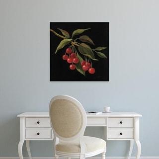 Easy Art Prints Silvia Vassileva's 'Cerise no Words' Premium Canvas Art