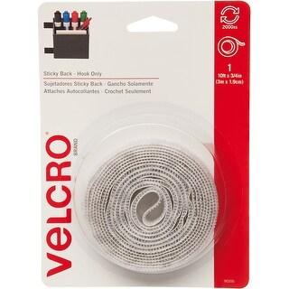 """Velcro(R) Brand Sticky Back Tape Hook Only .75""""X10'-White"""