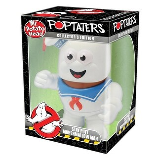 Ghostbusters Mr. Potato Head PopTater: Stay Puft Marshmallow Man