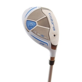 New Cobra Ladies Fly-Z XL (Blue) Hybrid #4 25* Graphite 55g RH +HC