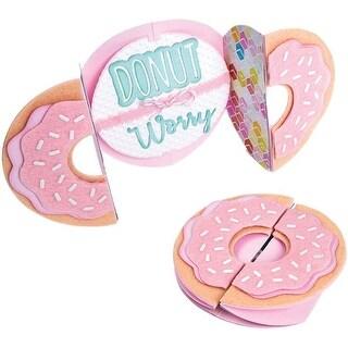 Donut Fold-A-Long Card - Sizzix Thinlits Dies By Jen Long
