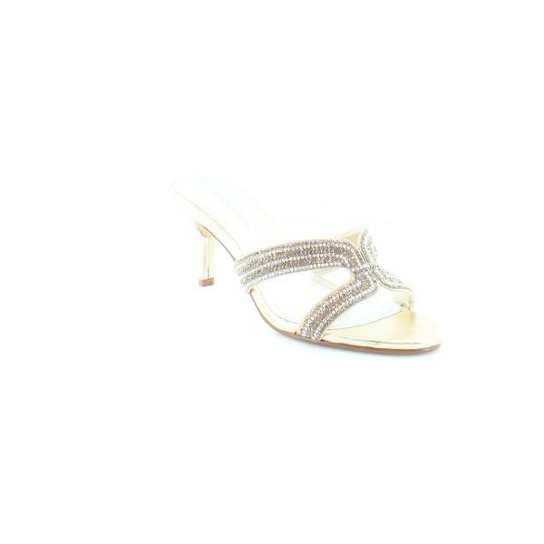Caparros Cynthia Women's Heels Gold Metallic