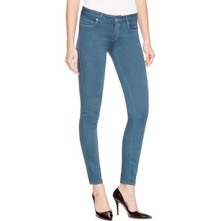 Paige Womens Verdugo Skinny Jeans Stretch Mid-Rise