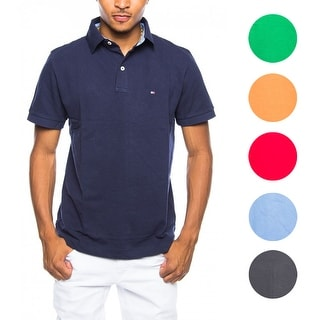 Tommy Hilfiger NEW Mens Custom Fit Premium Cotton Polo Shirt